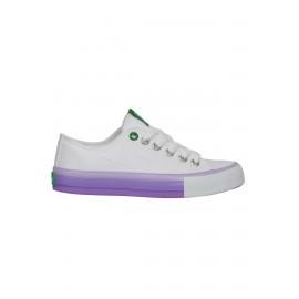 United Colors Of Benetton Beyaz-Lila Spor Ayakkabı BN-30176