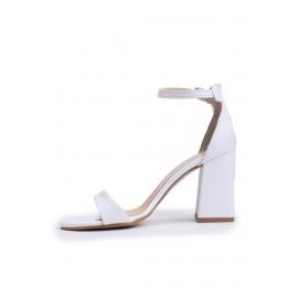 Kadın Sindirella Detaylı Taşlı Topuklu Ayakkabı