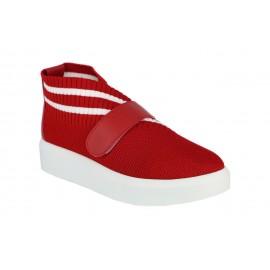 Tekstil Kırmızı Kadın Spor Ayakkabı