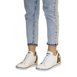 Kadın Gizli Dolgu Sneaker Pul Detaylı