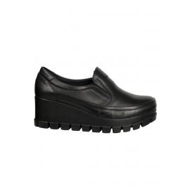 Kadın Deri Casual Ayakkabı Siyah