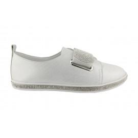 Kadın Taşlı Düz Ayakkabı