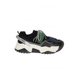 Kadın Bağcık Detaylı Sneaker Siyah