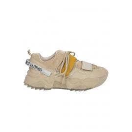 Kadın Bağcık Detaylı Sneaker Vizon