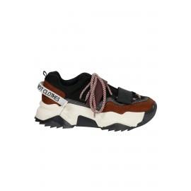 Kadın Bağcık Detaylı Sneaker Mutli