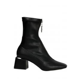 Kadın Çorap Bot Siyah Fermuarlı