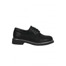 Kadın Siyah Petek Casual Ayakkabı